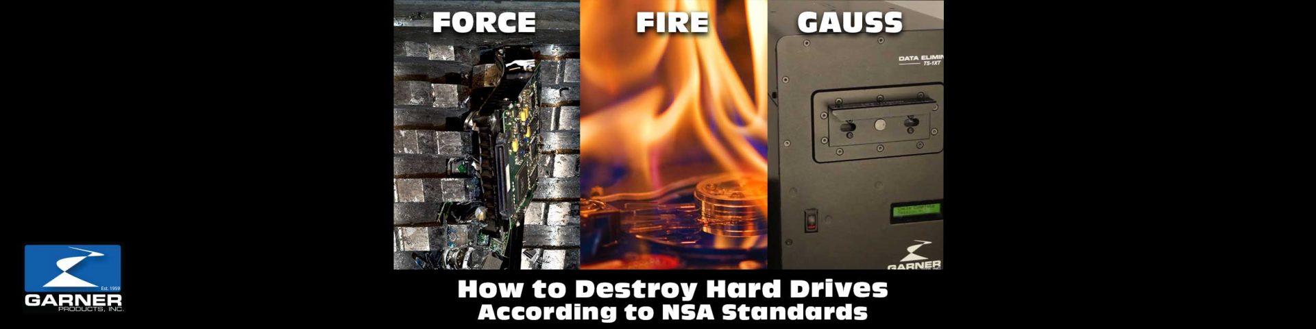 nsa approved data destruction methods